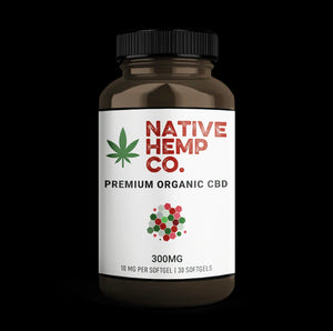 PREMIUM CBD SOFTGELS- 10 MG PER - 300 MG PER BOTTLE