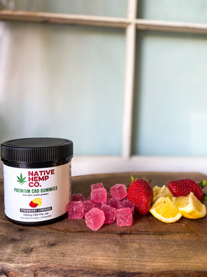 300 MG Organic Hemp Gummies