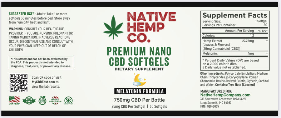 HEMP SLEEP-AID SOFTGELS