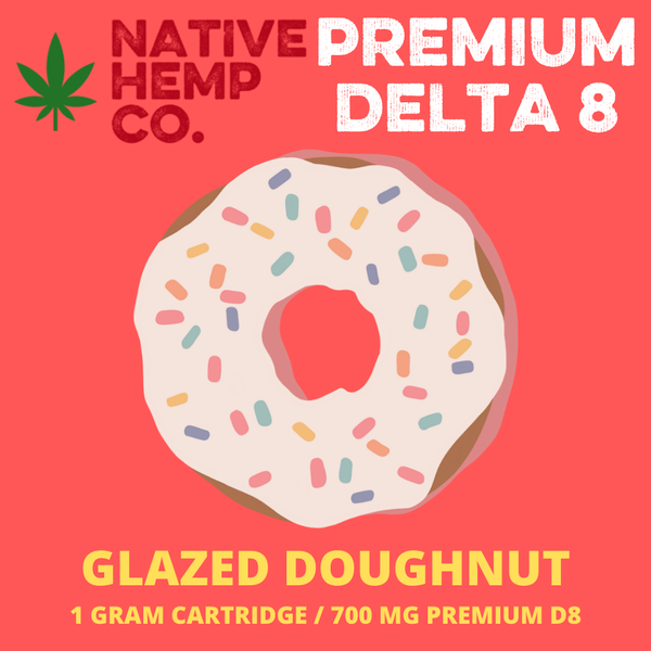 Glazed Donut D8 Cartridge