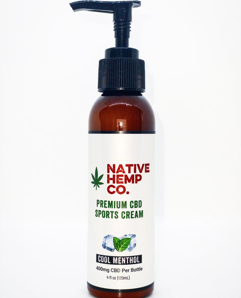 400 MG HEMP SPORTS CREAM