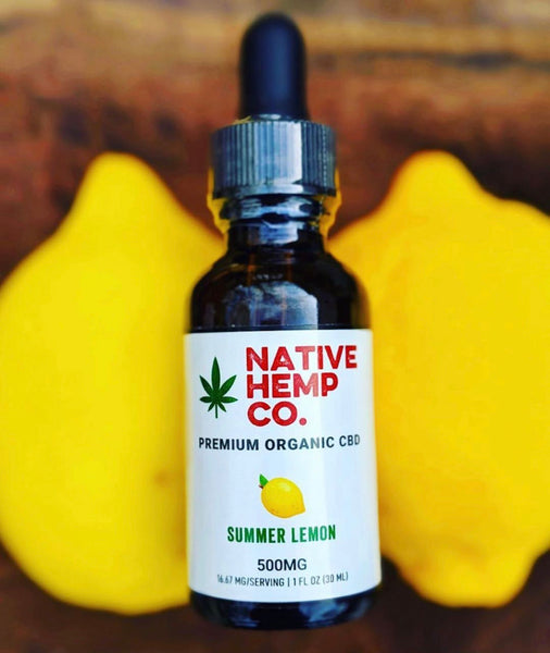 PREMIUM 500 MG HEMP OIL