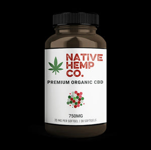 PREMIUM CBD SOFTGELLS - 25 MG PER - 750 MG PER BOTTLE