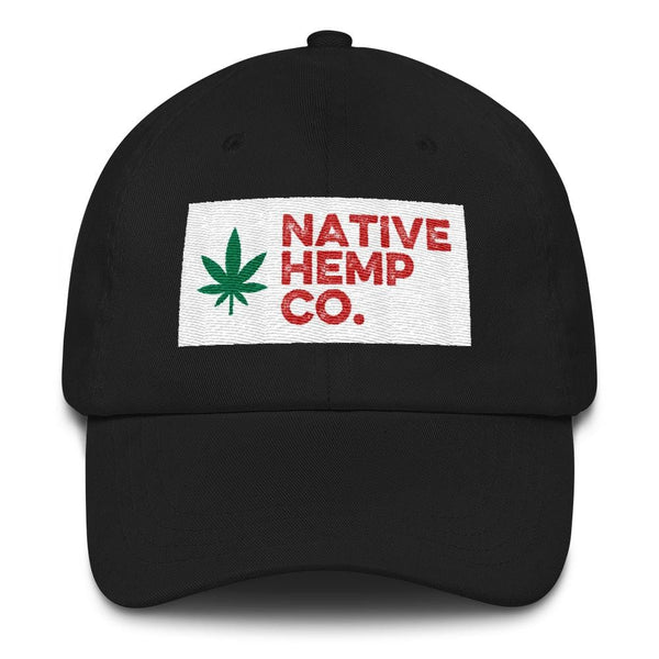 Native Hemp Co. Box Logo Dad Hat