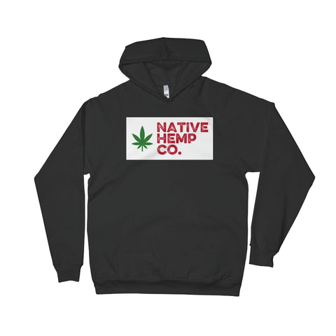 Native Hemp Co. Box Logo Pullover Hoodie