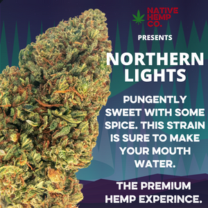 Northern Lights Hemp Flower