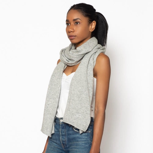 Cashmere Travel Wrap Grey