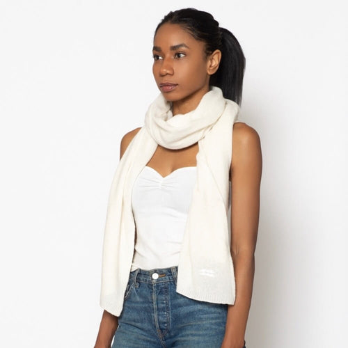 Cashmere Travel Wrap Cream