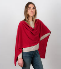 Cashmere Topper - Red