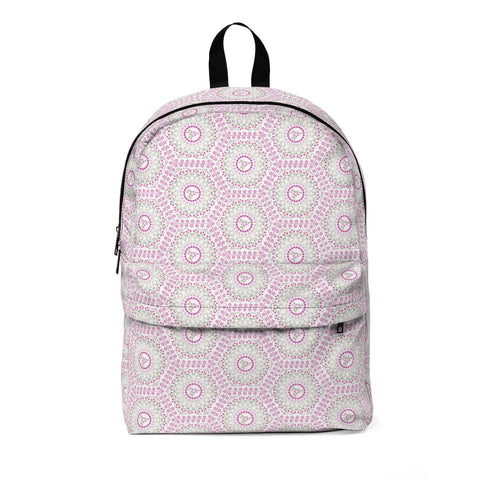 Polygon Pink Floral Classic Large Backpack