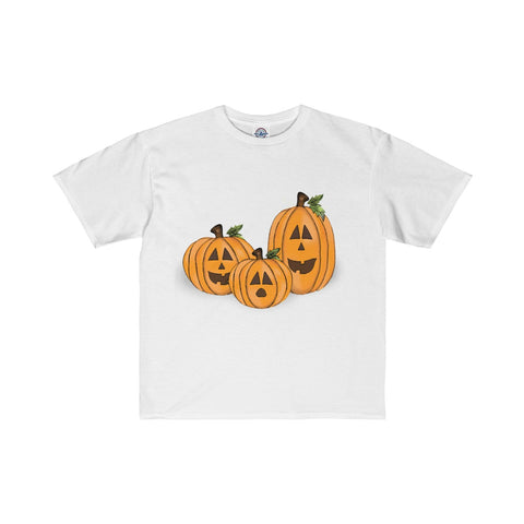 Jack O Lantern, Front and Back Kids Tee