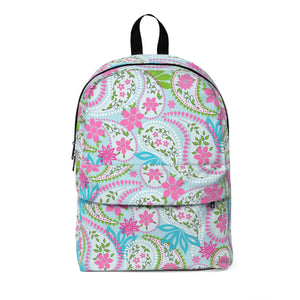 Pink Paisley Classic Large Backpack