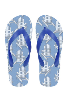 Adirondack Chairs Flip Flops with Blue Straps