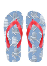 Adirondack Chairs Flip Flops with Pink Straps