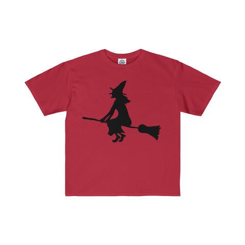 Flying Witch Kids Tee, Multi Colors