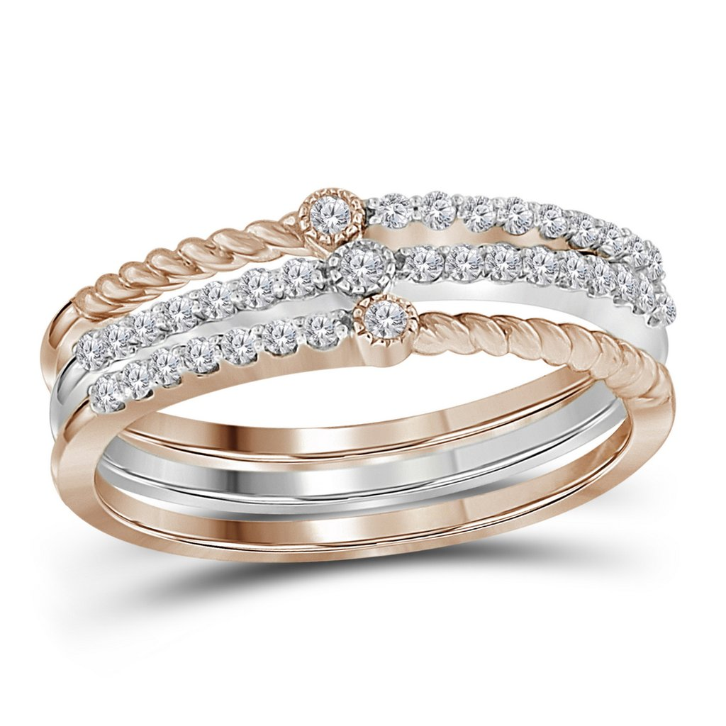 How to Layer Stackable Rings