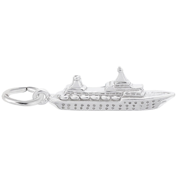 Rembrandt Charms Ship Charm Pendant Available in Gold or Sterling Silver