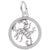 Rembrandt Charms Scorpio Charm Pendant Available in Gold or Sterling Silver