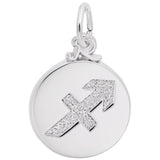 Rembrandt Charms 925 Sterling Silver Sagittarius Charm Pendant