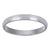 14kt Gold Unisex Dome Polished Comfort-fit 3mm Wedding Engagement Band Ring