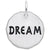 Rembrandt Charms Dream Charm Tag Charm Pendant Available in Gold or Sterling Silver