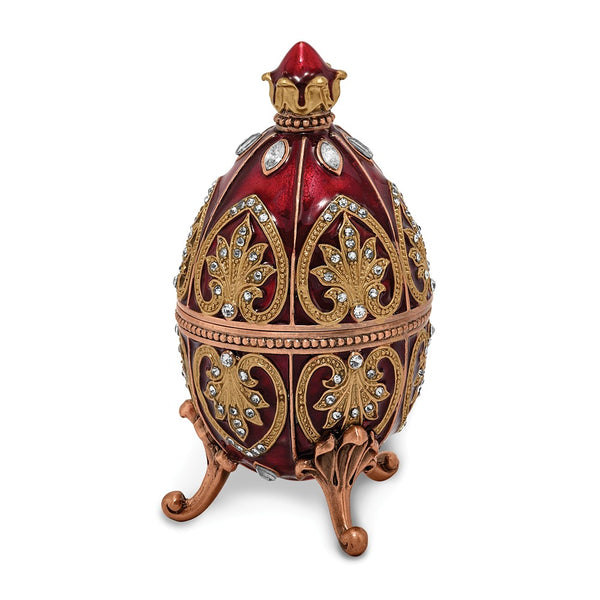 Bejeweled Fantasy Red Musical Egg