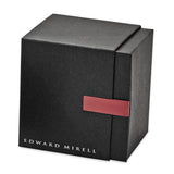 Edward Mirell Titanium Black Memory & Brushed Cable Cuff Bracelet