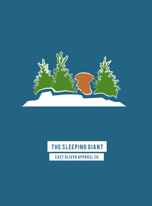 The Sleeping Giant Print