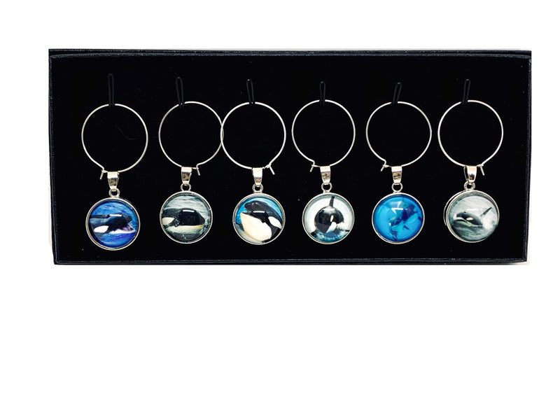 Wine Charms - BC Orca