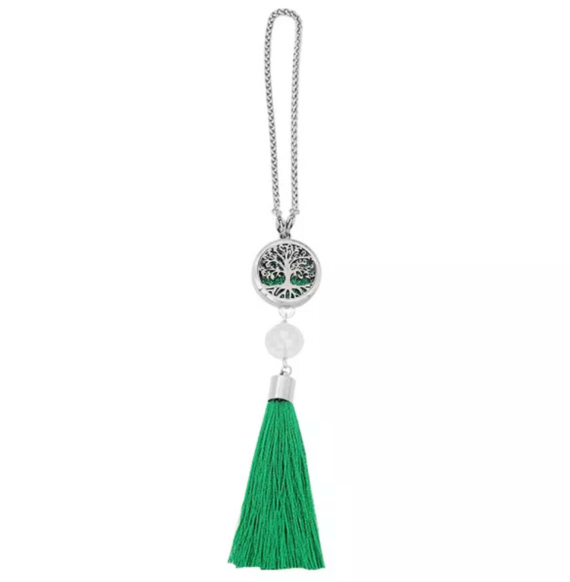 Aromatherapy Car Diffuser -Green Tree Of Life