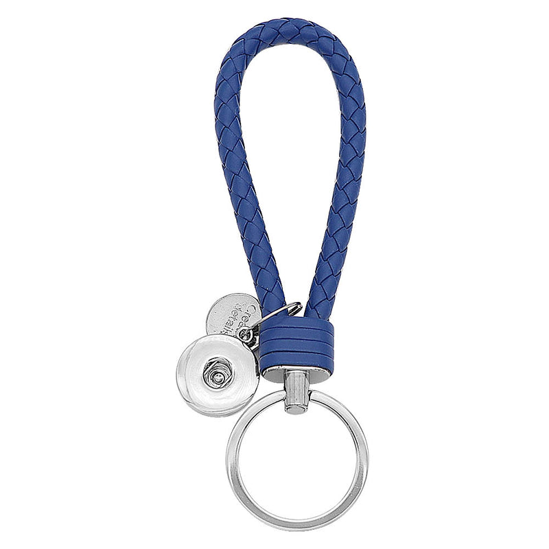 KeyChain Braided Blue