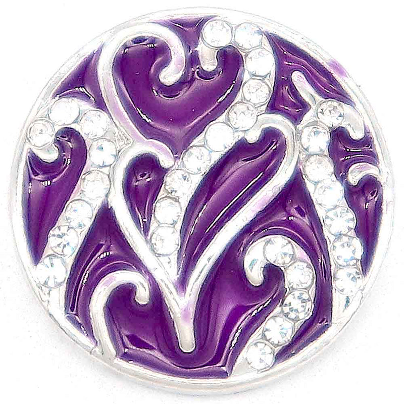 Entwined Hearts Purple