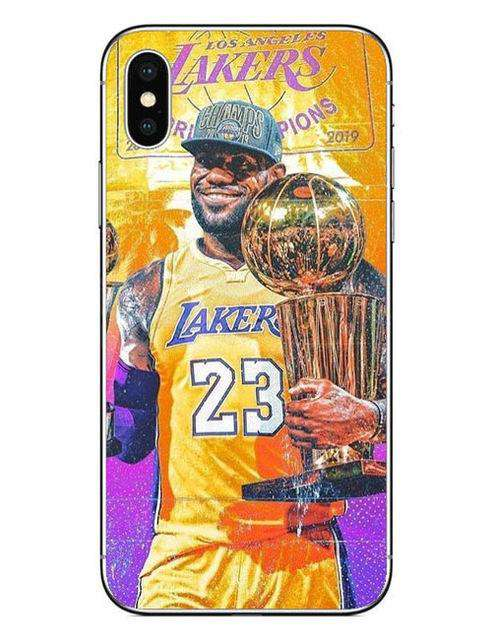 c765d3ae7286 King LeBron James Los Angeles Lakers iPhone Case – DailyDropDeals