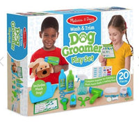 Wash and Trim Dog Grooming Play Set