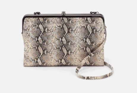 HOBO-Leanne Glam Snake Crossbody