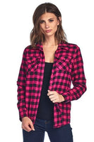 Pink and Black Plaid