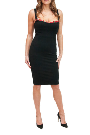 Jennifer Stretch Black Dress