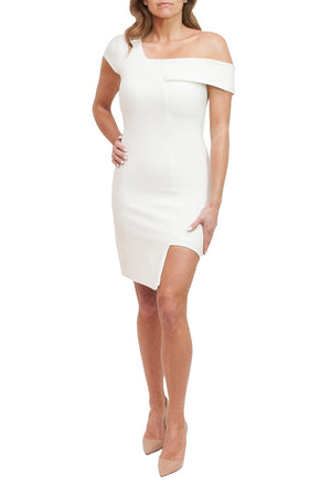 Jessica Stretch White Dress