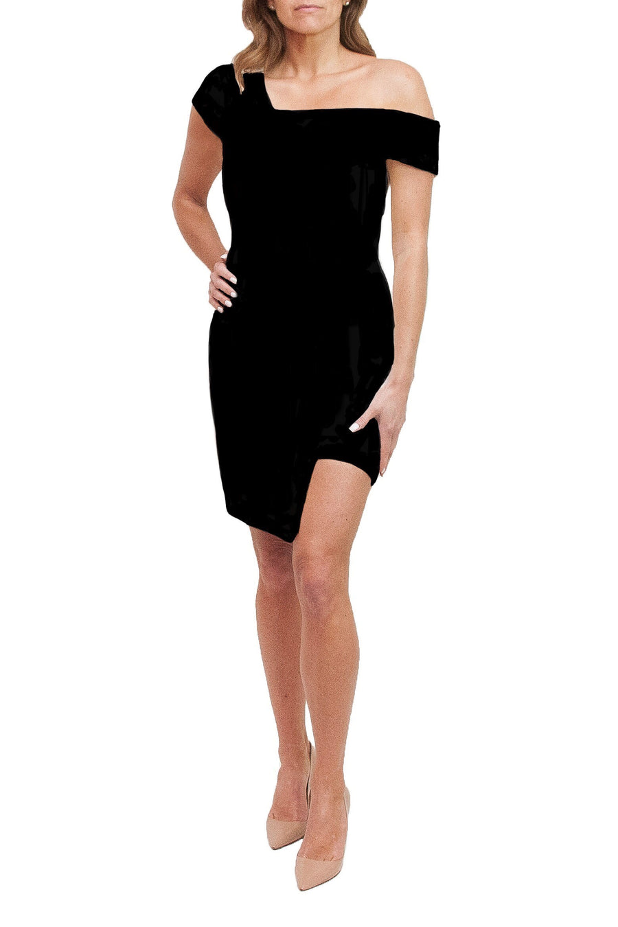 Jessica Stretch Black Dress