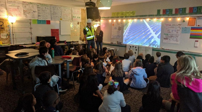Vivorex Teaches Fourth Grade Science Class About Solar Power