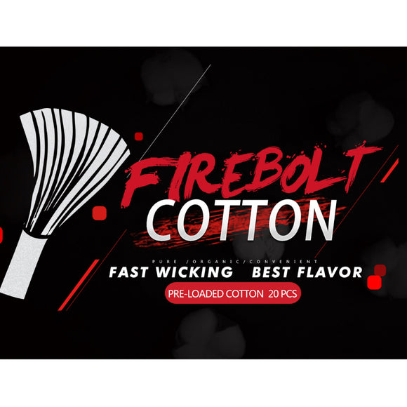 VAPEFLY FIREBOLT COTTON - 20PCS
