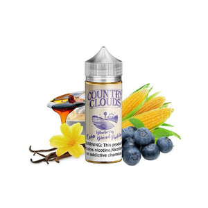 Blueberry Cornbread Pudding - Country Clouds E Liquid