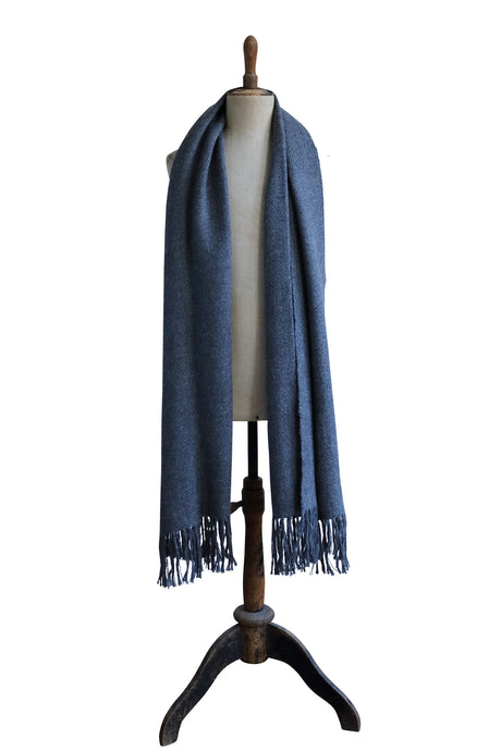 Large dark gray scarf