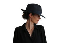 Load image into Gallery viewer, Fedora Felt Hat - Gray