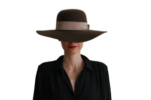 Capeline Hat - Brown
