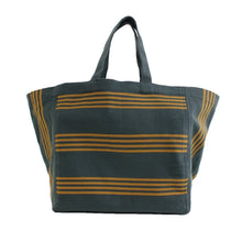 Load image into Gallery viewer, Large tote bag Green/Yellow