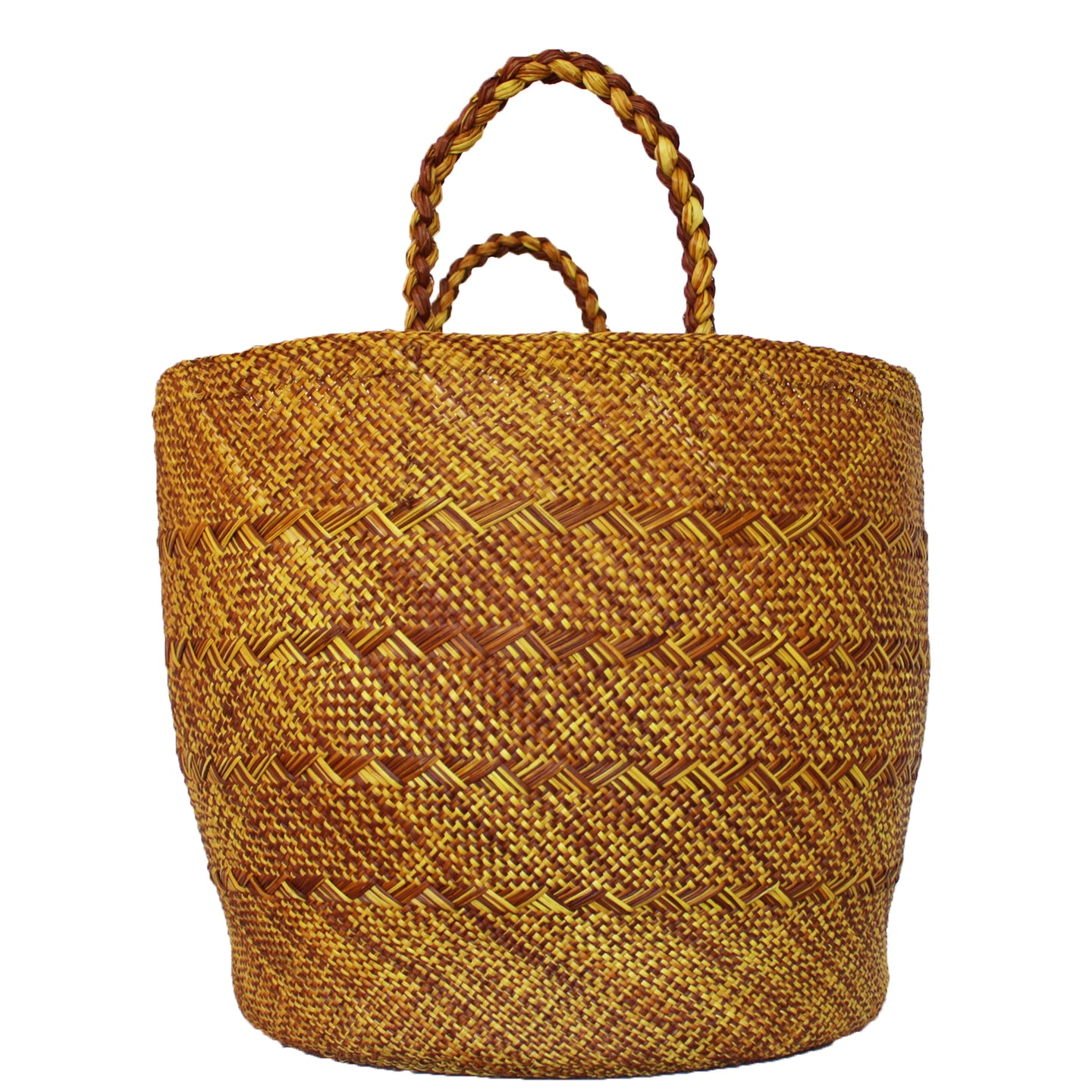 Large Yellow/Orange Basket