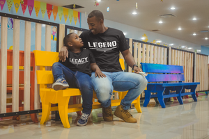5. Legacy (Pairs w/Legend) - Toddler Tees
