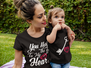 4. You Hold the Key to My Heart - Ladies Classic Tees