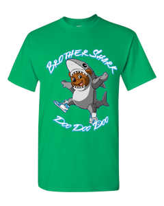 Brother Shark Doo Doo - Adult Unisex T-Shirt